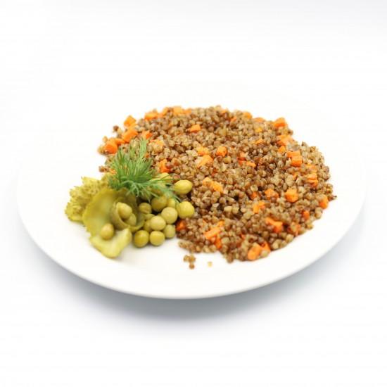 Гречка с морковью