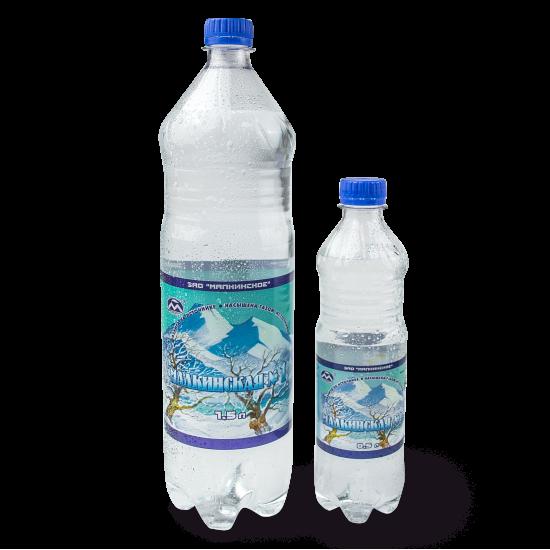 """""""Малкинская №1"""", вода, 1.5л"""