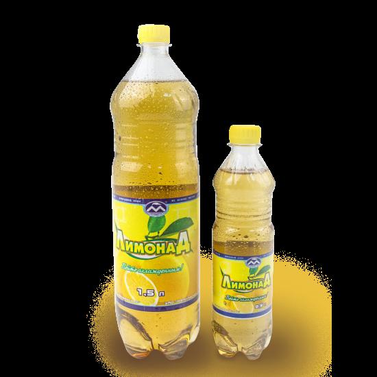 """Напиток безалкогольный среднегазированный ароматизированный """"Лимонад"""", 1.5л"""