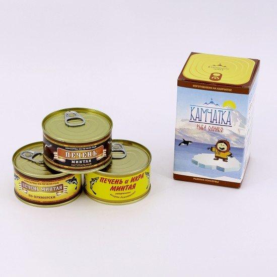Камчатский сувенир, рыбные консервы