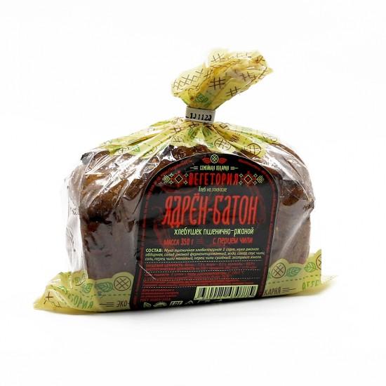 Хлебушек пшенично-ржаной с перцем чили  «Ядрён-Батон»