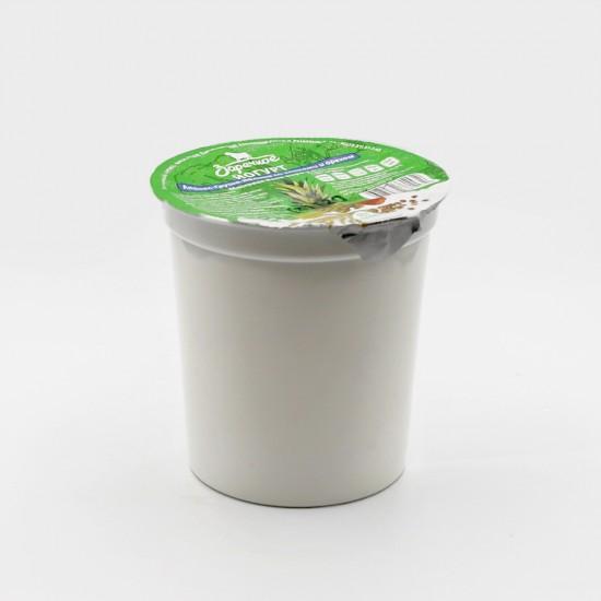 Йогурт  Ананас-Груша-Яблоко со злаками и орехом, м.д.ж 2,5%