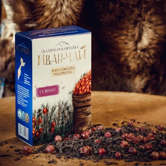 """Иван-чай """"Сказочная Камчатка"""" с клюквой"""