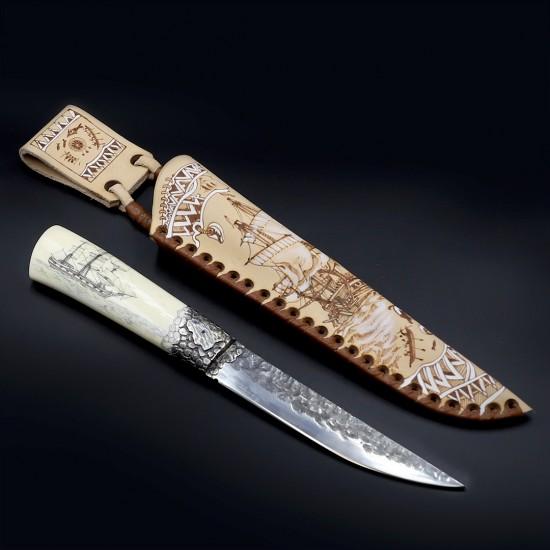 Нож «Охота на кита», Коллекция «Пареньский нож»